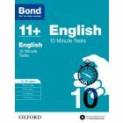 Bond 11+: English: 10 Minute Tests for 11 to 12+ years