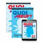 Quoi de Neuf? 3+4 Student Book, eBook and Activity Book 2ed