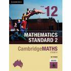 CambridgeMATHS Stage 6 Mathematics Standard 2 Year 12 (print & interactive textbook)