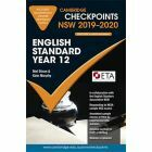 Cambridge Checkpoints Year 12 English Standard 2019-2020