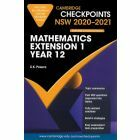 Cambridge Checkpoints Year 12 Mathematics Extension 1 2020-2021
