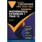 Cambridge Checkpoints Year 12 Mathematics Extension 1 2020-2021
