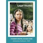 Cambridge Legal Studies Stage 6 Year 12 5e digital (Access Code)