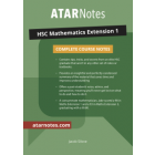ATAR Notes: HSC Mathematics Extension 1 Complete Course Notes