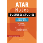 ATAR Notes: Year 12 Business Studies Complete Course Notes (2019-2020)