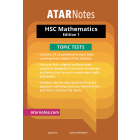 ATAR Notes: HSC Mathematics Topic Tests