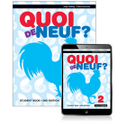 Quoi de Neuf? 2 Student Book with eBook, 2nd Edition