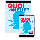 Quoi de Neuf? 3+4 Student Book with eBook, 2nd Edition