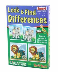 Look & Find Differences (Ages 3+)
