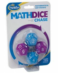 Math Dice Chase Game (Ages 8+)
