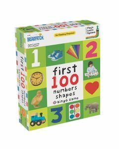 First 100 Numbers Shapes Bingo Game - 01302 (Ages 2+)
