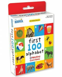 First 100 Alphabet Matching Card Game - 01336 (Ages 2+)
