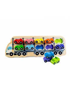 1-10 Car Puzzle (18 months+)