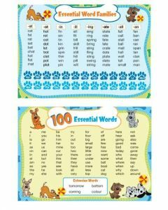 100 Essential Words Deskmat