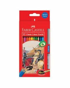 Faber-Castell 12 Classic Colour Pencils