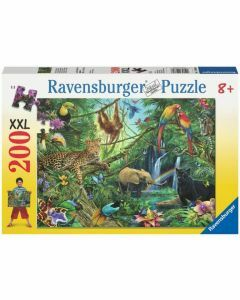 Animals in the Jungle 200 Piece Puzzle (Ages 8+)