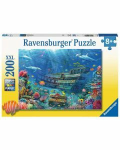 Underwater Discovery 200 Piece Puzzle (Ages 8+)