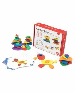 Rainbow Pebbles Set in a Box (Ages 3+)