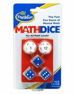 Math Dice Game (Ages 8+)