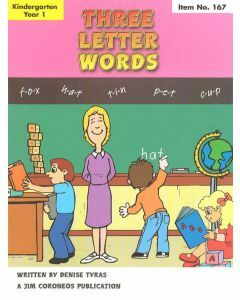Early Learning Skills Book 2 Years K-1: Three Letter Words (No. 167)