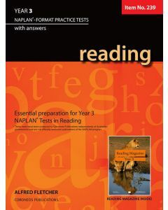 Reading Year 3 - NAPLAN* Format Practice Tests (Basic Skills No. 239)