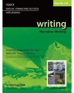 Writing Year 7 NAPLAN* Format Practice Tests (Writing Narratives) (Item No. 243)