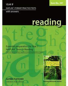 Reading Year 7 NAPLAN* Format Practice Tests  #247