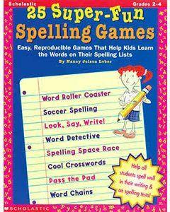 25 Super Fun Spelling Games