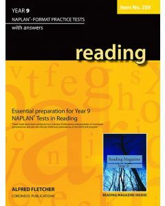 Reading Year 9 NAPLAN* Format Practice Tests #259