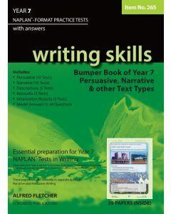 Writing Skills Bumper Book Year 7 NAPLAN Format* Practice Tests (Item no. 265)