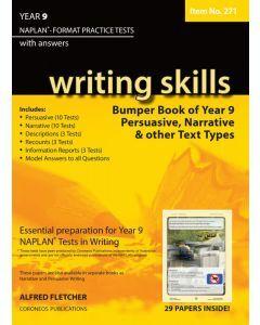 Writing Skills Bumper Book Year 9 NAPLAN Format* Practice Tests (Item no. 271)