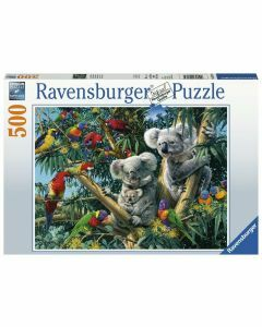 Koalas in a Tree 500 Piece Puzzle (Ages 10+)