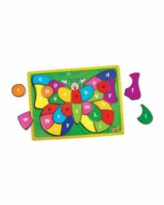 Butterfly Alphabet Puzzle (Ages 3+)