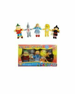 Wizard of Oz 5 Piece Finger Puppet Set (Ages 3+)