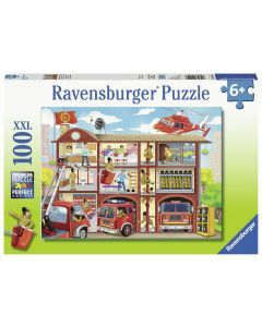 Firehouse Frenzy 100 Piece Puzzle (Ages 6+)