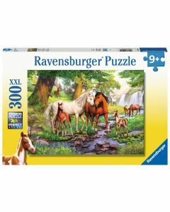 Horses by the Stream 300 Piece Puzzle (Ages 9+)
