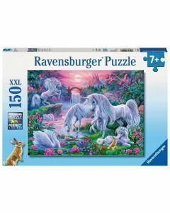 Unicorns at Sunset 150 Piece Puzzle (Ages 7+)