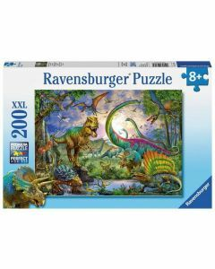 Among the Dinosaurs 100 Piece Puzzle (Ages 6+)