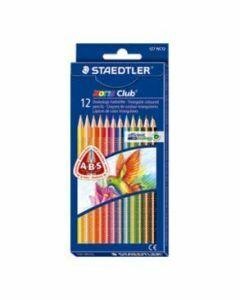 Staedtler Triangular Coloured Pencils 12pk