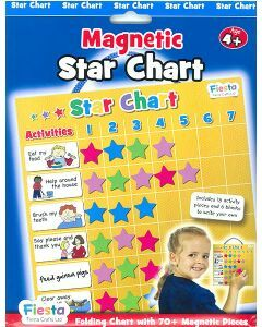 Magnetic Star Chart (Chart & 70+ Pieces) (Ages 4+)
