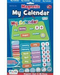 Magnetic My Calendar (Chart + 38 Pieces) (Ages 3+)