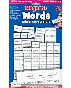 Magnetic Words for Years 3-5 / Ages 7-10 (Board + 114 Pieces)
