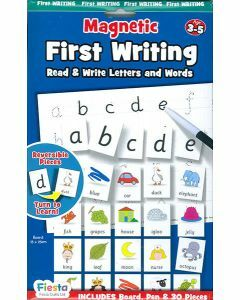 Magnetic First Writing (Board, Pen & 30 Pieces) (Ages 3-5)