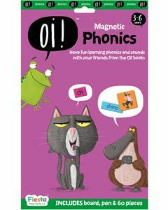 Oi! Magnetic Phonics - Board, Pen & 60 pieces (Ages 3-6)