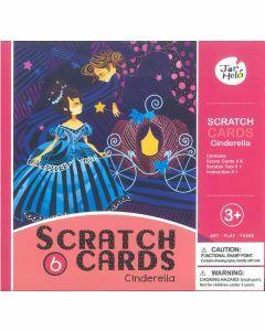 Scratch Cards Cinderella - JA90121 (Ages 3+)