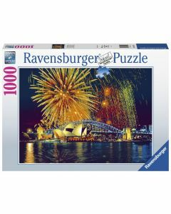 Fireworks Over Sydney 1000 Piece Puzzle (Ages 12+)