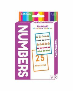 Numbers Flashcards (Ages 4+)