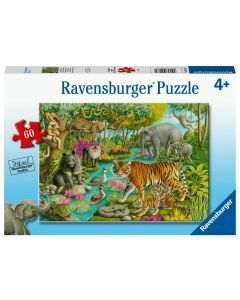 Animals of India 60 Piece Puzzle (Ages 4+)