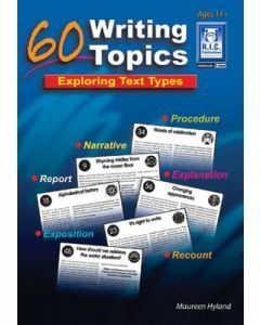 60 Writing Topics Ages 11+