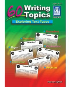60 Writing Topics Ages 8 to 10